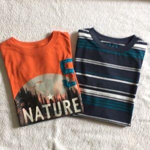 Boys Bundle of Cat & Jack Shirts